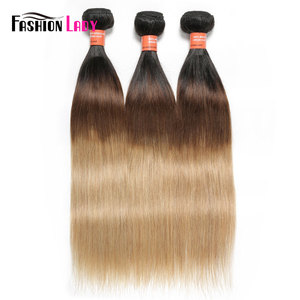 Image 3 - Tissage en lot brésilien naturel Non Remy lisse pré coloré FASHION LADY