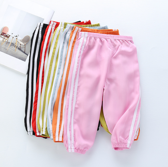 Baby Girl Leggings Summer Prevent Mosquito Bites Pp Pants Little Boy Casual Harems Pants Kids Trousers Bottoming Pant