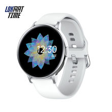 Lokmat Time 2020 montre intelligente femmes pleine touche mode IP68 étanche bracelet intelligent Multi sport Fitness Tracker pour Android(China)