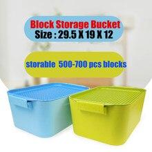 New Plastic Storage Box Base Plate 28X20 Dots Fit Legoings Figures Bulk Bricks City Building Block Bucket Toys Diy Kid Gift