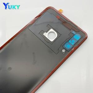 Image 5 - עבור Huawei P30 Lite סוללה כיסוי נובה 4e אחורי זכוכית דלת פנל מקרה עבור Huawei P30 Lite סוללה כיסוי + מצלמה עדשת להחליף