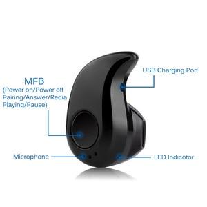Image 3 - Mini écouteur sans fil Bluetooth dans loreille Sport avec micro mains libres casque écouteurs pour tous les téléphones pour Samsung Huawei Xiaomi Android