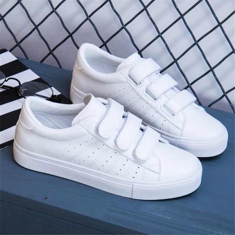 Outono tenis feminino laço-up branco mulher sapatos de couro cor sólida sapatos femininos sapatos casuais tênis tn zapatillas mujer