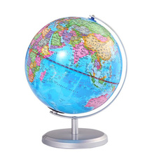 20cm Earth Globe World Map Geography Educational Toy for Desktop Decoration Home Office Aid Miniatures Kids Gift