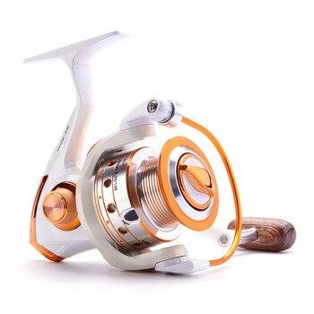 Spinning Fishing Reel 12BB + 1 Bearing Balls 500-9000 Series Metal Coil Spinning Reel Boat Rock Fishing Wheel 1