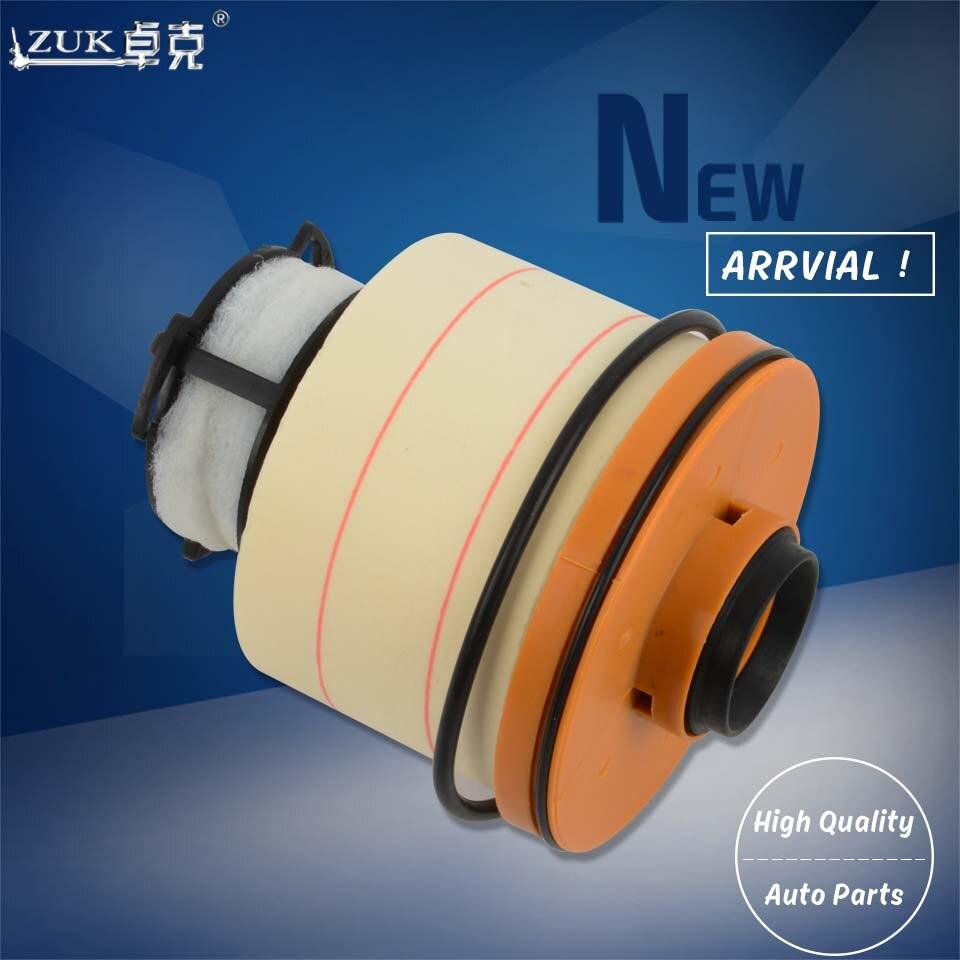 ZUK 5PCS/Lot Fuel Filter Diesel Filter Element Kit 23390-0L070 For Toyota HILUX REVO SR5 M70 M80 FORTUNER INNOVA 2015 2016 2017