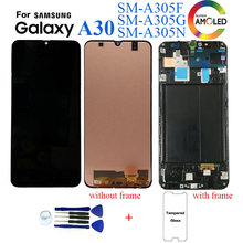 Originale Per Samsung Galaxy A30 SM A305F Display lcd sostituzione Dello Schermo per Samsung A30 A305 A305F display lcd modulo schermo