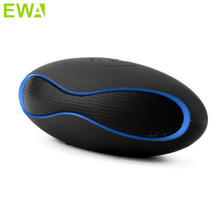 EWA Wireless Mini Bluetooth Speakers Portable column Stereo Music Speaker Box MIC Audio Receiver Handsfree boombox TF card Slot(China)