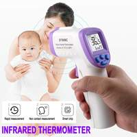 Infrared Forehead Body Thermometer Baby Adult Digital Thermometer Guns Non contact Body Temperature Measurement Meter