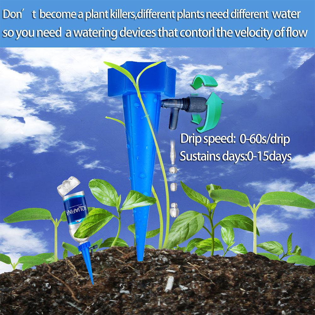 Купить с кэшбэком DishyKooker Automatic Drip Irrigation Watering System with Adjustable Valve for Plants Flower