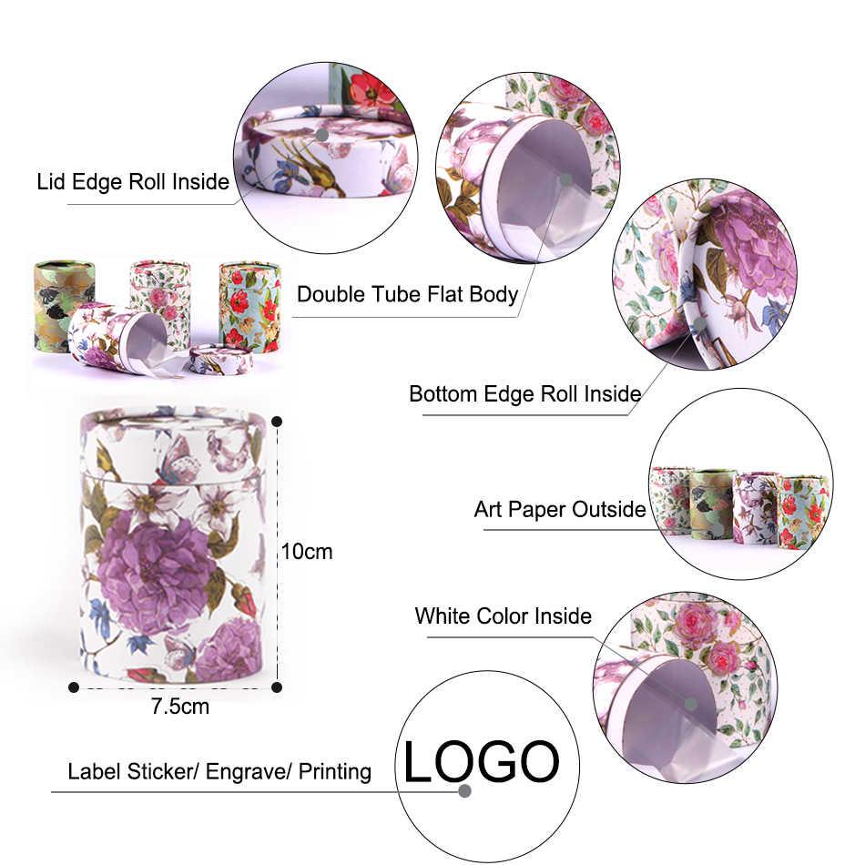 Stern Verpackung Runde Karton Box Verpackung Rohr Box Karte Rohr Verpackung Für Tee Karton Boxen Tee Verpackung Papier Runde Box