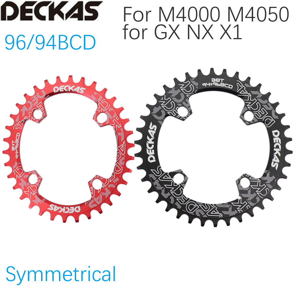 DECKAS 120 BCD Chainring Round 36T 38T MTB  Mountain Bicycle Chainwheel Hollow