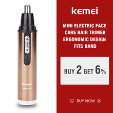 Kemei KM-6619 Personal Electric Nose & Ear Trimmer Man & Woman Face Car