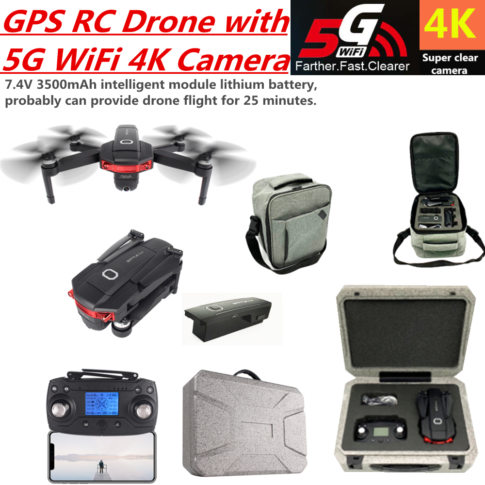 RC <font><b>Drone</b></font> 4K GPS <font><b>Drones</b></font> with 5G WiFi FPV HD Camera Quadcopter Brushless Quadrocopter Foldable Helicopter VS F11 <font><b>CG033</b></font> SG906 image