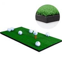 Backyard Golf Mat Residential Training Hitting Pad Practice Rubber Tee Holder