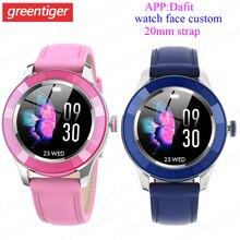 S09 Frauen Smartwatch Herz Rate Monitor Blutdruck IP67 Wasserdichte Bluetooth Musik Smart Uhr Weibliche Dame Geschenk VS KW10 GW33