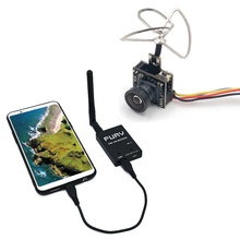 5.8G odbiornik UVC + 25 mW/100 mW 5.8G 48CH VTX 600TVL nadajnik kamery FPV wideo downlink OTG VR Smartphone dla FPV Racing Drone