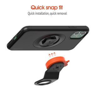 Image 4 - 2020 New Mountain Bike Phone holder For iPhone 11 Pro XsMax X 8 7 Bicycle Handlebar Mount Cell Phone Stand With Shockproof Case