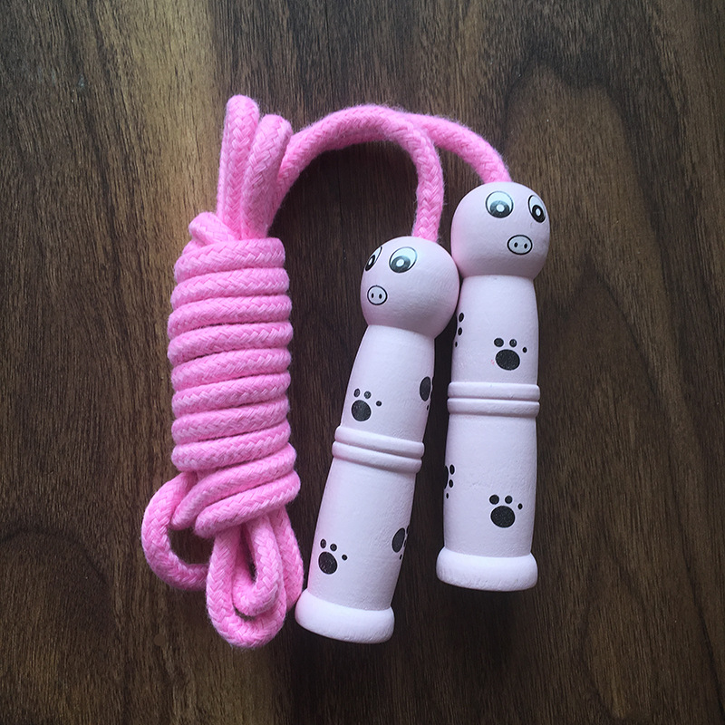 Boys And Girls Young STUDENT'S Sports Supplies Adjustable Children Jump Rope Baby Powder Beginners Powder