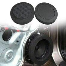 """4Pc Universal 6.5 """"Auto Tür Lautsprecher Isolierung Ring Woofer Schaum Welle Pad Sound Noise Schalldichte Schutz Auto Pad audio Lautsprecher"""