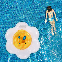 Kids Inflatable Swimming Ring Floating Ring Summer Outdoor Swimming Entertainment Waist Neck Floating Ring Seats Belt Ring Seats