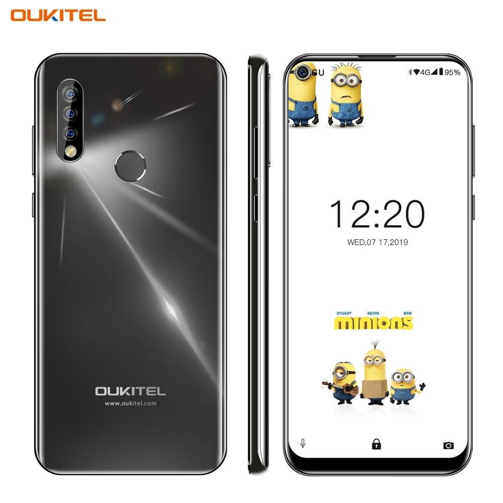 4G Mobile Phone OUKITEL C17 Android 9.0 Smartphone 6.35'' Face ID Fingerprint Octa Core 3GB 16GB 3900mAh Triple Camera MT6763