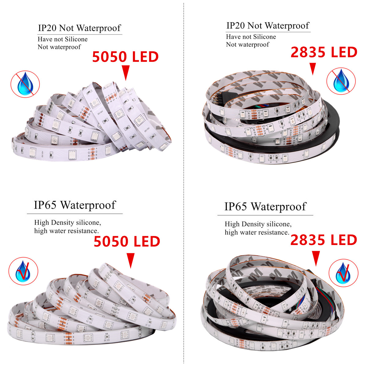 lowest price 50pcs addressable 12mm WS2811 Full Color LED pixel module 2811 IC DC5V  string IP68 rated RGB Digital  christmas Light