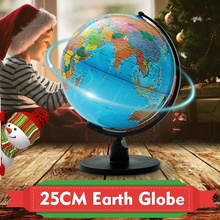 Ornament World-Globe Geography Home-Decoration with Swivel-Stand Terrestrial Toy-Map