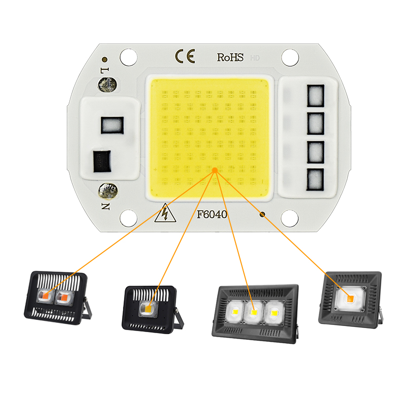 LED Grow COB Chip Phyto Lamp Full Spectrum AC220V 10W 20W 30W 50W For Indoor Plant Seedling Grow and Flower Growth Fitolamp 3
