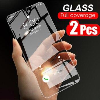 2 sztuk ochraniacz ekranu dla LG V60 V50 V50S V40 ThinQ V30 V30S V35 K5 K7 K8 K10 ekran ze szkła hartowanego pokrywa szkło hartowane