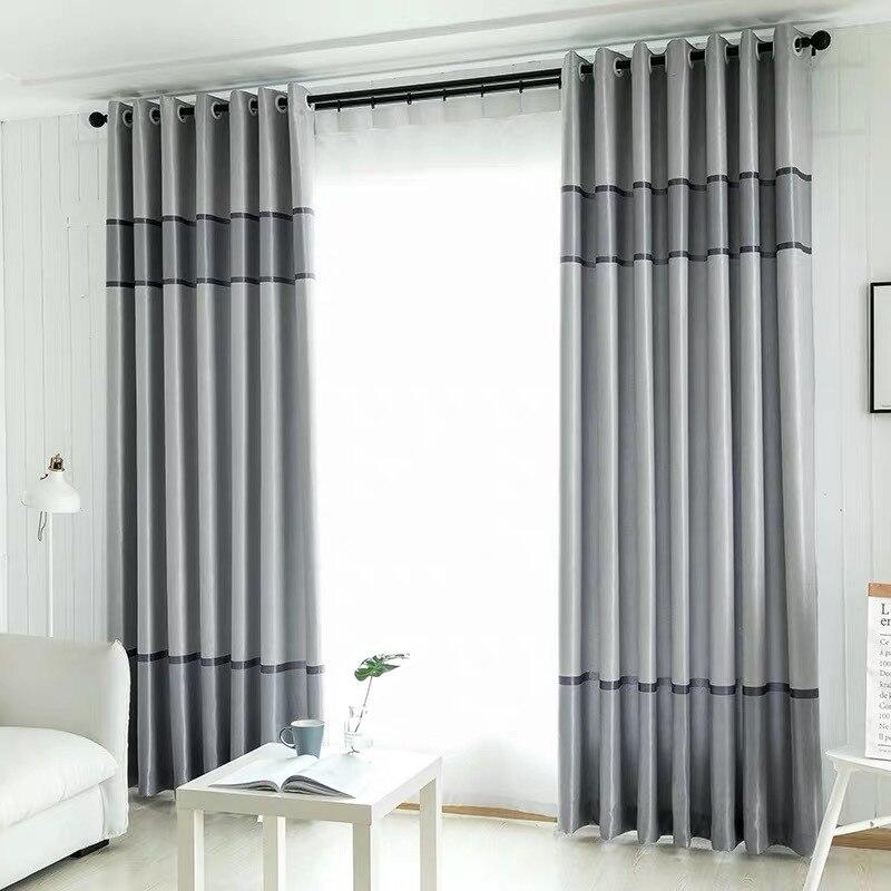 Cortinas opacas de rayas modernas para dormitorio, sala, ventana, ojal, cortina púrpura, listas para usar NEO Coolcam Smart Home Z Wave Plus, interruptor inteligente de cortina para cortina eléctrica motorizada, persiana enrollable