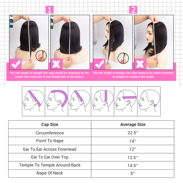 4x4 Lace Closure Short Bob Wig Human Hair Wigs Blunt Cut Bob Human Hair Wig Pre-Plucke Brazilian Straight Wig For Black Women 6