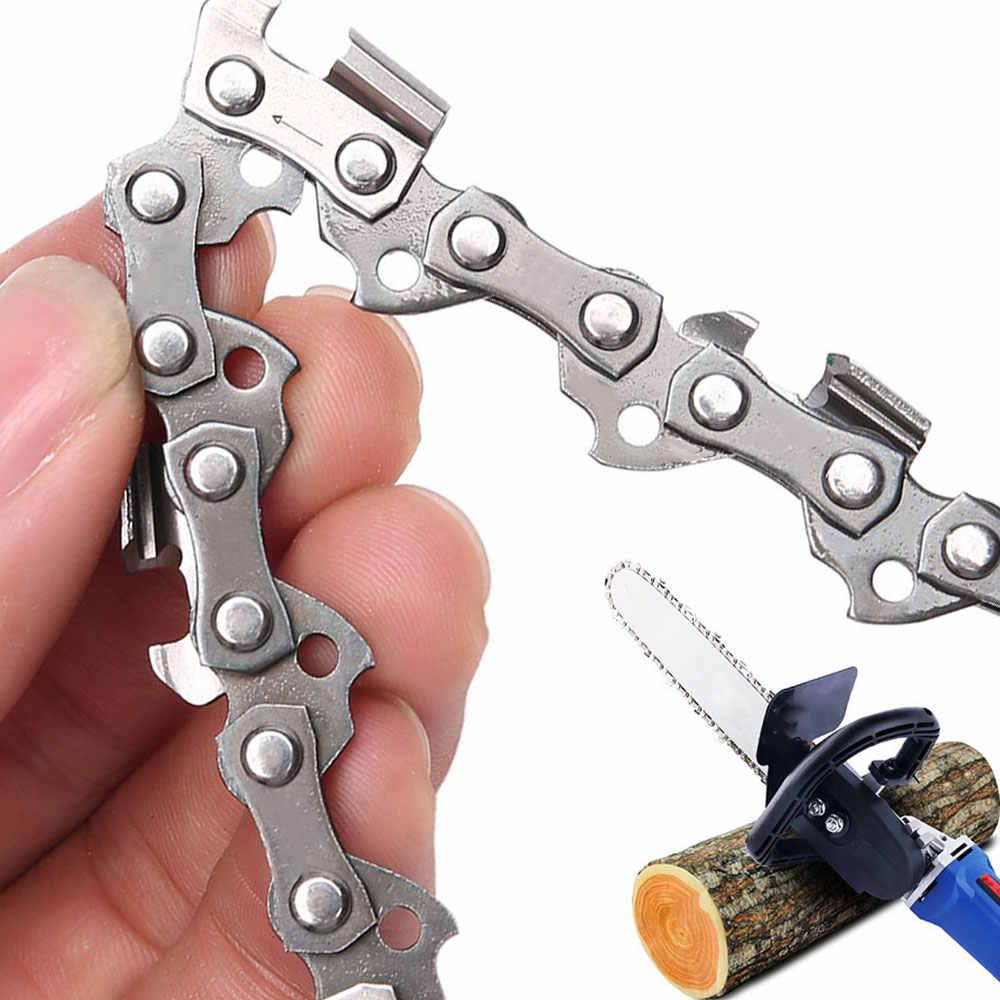 """2 sztuk 16 Cal łańcuch do piły łańcuchowej Bar Pitch 3/8 """"ostrze cięcie drewna 57 linki napędowe części zamienne części zamienne do piły łańcuchowej do piła elektryczna"""