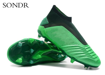 Indoor Men Soccer Shoes Kids Soccer Cleats Football Boots High Ankle Sport Training Sneakers Futsal Football Shoes