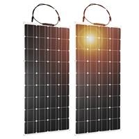 Dokio Flexible Solar Panel 100W Monocrystalline Solar Cell 200w 400w 600w 800W 1000W Solar Panel Kit For RV/Boat/Home system