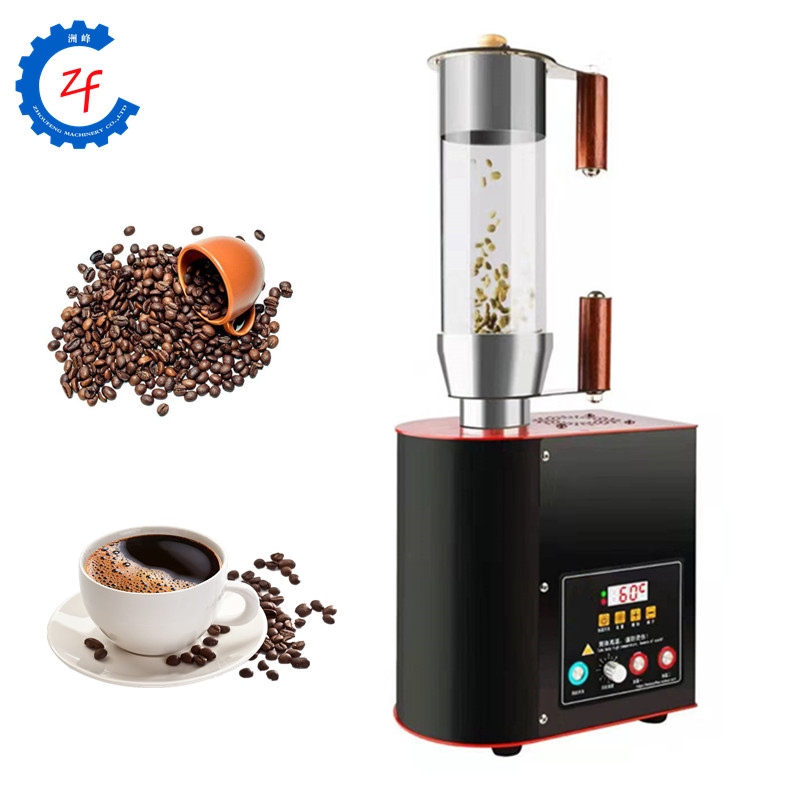Hot air coffee bean roasting machine electric coffee roaster price image