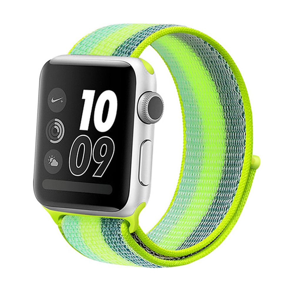 For Apple Watch Band Nylon Soft 40mm 44mm For IWatch Replacement Band Sport Loop For Apple Watch 4 Series 3/2/1 38MM 42MM Strap