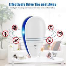 Repelente de insectos para cucarachas, repelente ultrasónico de plagas y ratones, herramienta de seguridad y ambiental