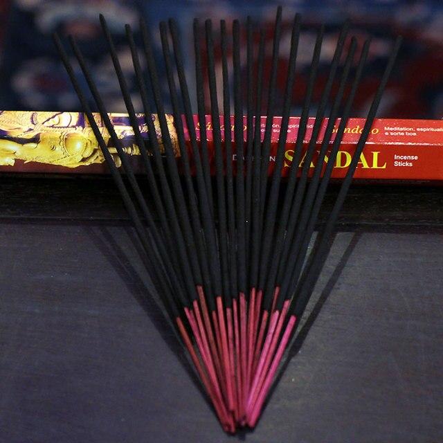 1 Box Tulip Flavors Tibetan Incense Sticks Indian Incense White Sage Flavor Sandalwood Incense Meditation Home Fragrance 4