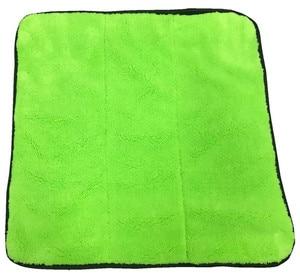 Image 5 - Microfiber Handdoek Car Care Polijsten Wassen Handdoek Pluche Wassen Drogen Handdoeken Dikke Pluche Coral Fluwelen Auto Detailing Cleaning Doek