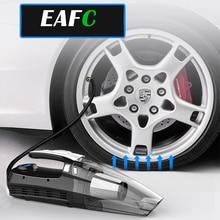 EAFC Tire Inflator Air Compressor Pump Car Vacuum Cleaner 12v Handheld Cordless Vacuums Aspirador Carro Auto Motorcycle