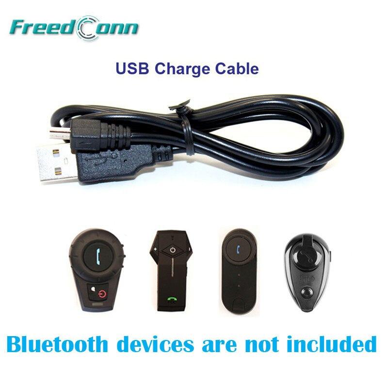 Freedconn T-COM colo acessórios cabo de carga usb terno para freedconn T-COM colo motocicleta bluetooth interfone frete grátis!