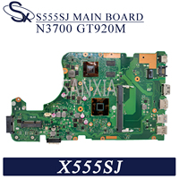 Kefu x555sj placa-mãe do portátil para asus x555sj original mainboard n3700 gt920m