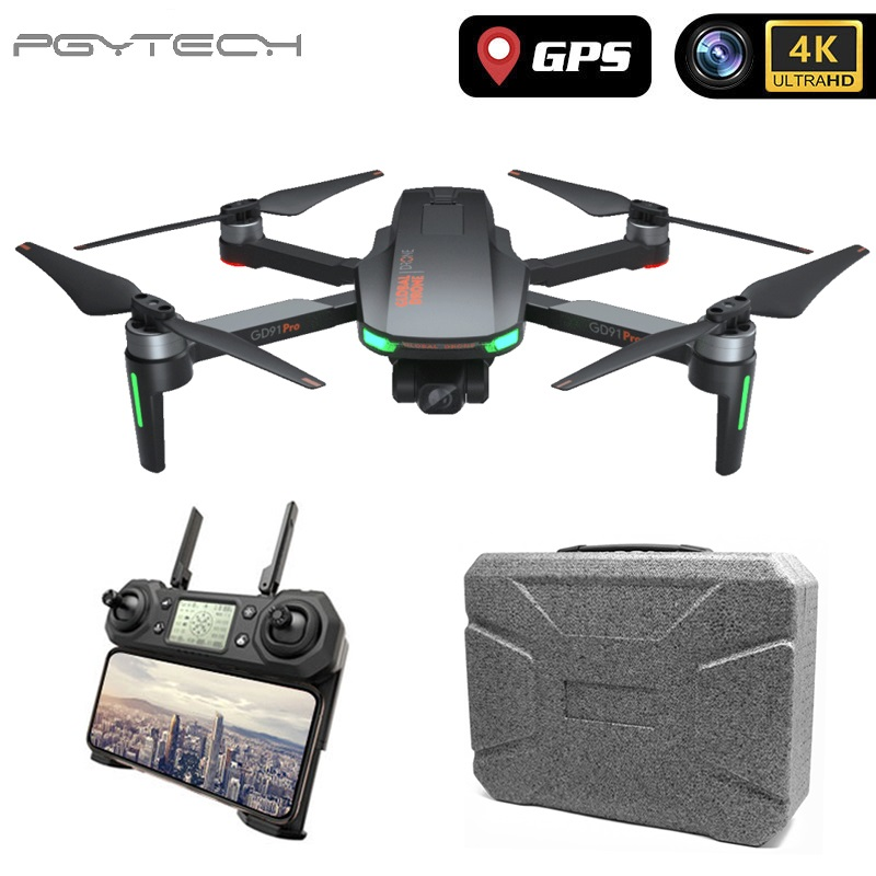 PGY Professional GPS Drone 4K with Camera HD Adjustable Gimbal Follow Me Wifi Quadrocopter Auto Return to Home Dron Camera Drones  - AliExpress