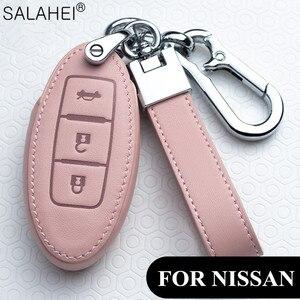 Image 1 - Auto Schlüssel Abdeckung Schutz Fall Für Nissan Qashqai J10 J11 X Trail t31 t32 kicks Tiida Pathfinder Murano Hinweis juke 370Z Cube Micra