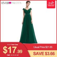 웨딩 파티 가운 플러스 사이즈 이브닝 드레스 2020 여성 긴 우아한 v 넥 민소매 a 라인 시폰 이브닝 가운