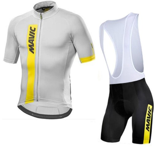 2018 <font><b>MAVIC</b></font> Pro Team Men <font><b>Short</b></font> sleeve Cycling Jersey 9D <font><b>Bibs</b></font> pad <font><b>shorts</b></font> set clothing cycling summer fast dry bike jerseys image