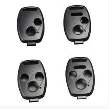 Pilot samochodowy obudowa składanego kluczyka obudowa pilota obudowa wymienna pokrywa dla honda CRV CIVIC Accord obudowa kluczyka do samochodu plastik ABS nowość tanie tanio QPZR0003 ABS Plastic China Black Use existing cut key blade