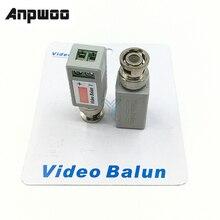 ANPWOO 1 шт. одноканальный стандартный коаксиальный адаптер для камеры Balun CCTV DVR BNC UTP