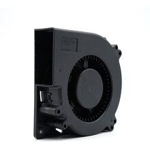цена на DC12V 24V 12CM 12032 turbo blower, dual ball bearing 120mm air blower,dc brushless motor with locking protection centrifugal fan